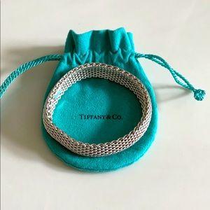 Tiffany & Co. Silver Mesh Somerset Bracelet